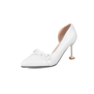 à Amande Habillé Bout Talons 06506163 Chaussures pointu Printemps Aiguille Chaussures Similicuir Rose Noir Confort Talon Eté awwXxqOS