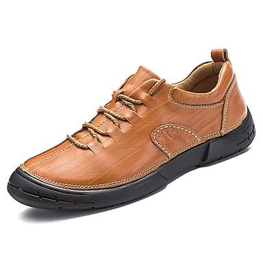 בגדי ריקוד גברים גומי אביב / סתיו נוחות נעלי ספורט שחור / חום