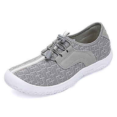 בגדי ריקוד גברים נעלי נוחות PU סתיו / חורף נעלי אתלטיקה נעלי ספורט מים שחור / אפור