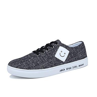 נעליים בד אביב סתיו נוחות נעלי ספורט ל קזו'אל בָּחוּץ שחור אפור כחול