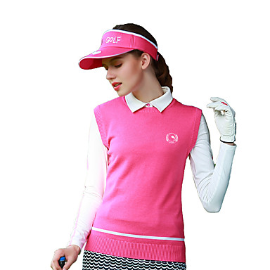 בגדי ריקוד נשים גולף אפוד עמיד / ייבוש מהיר / נשימה גולף / פעילות חוץ ספורט וחוץ / חורף