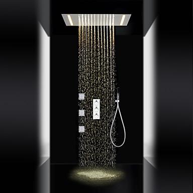 Shower Faucet - Contemporary Chrome Brass Valve