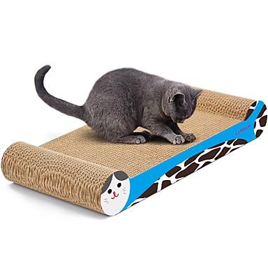 אומנות גירוד נייר ויצירה בנייר הדפסות אומנות צבעוני משטח גירוד מסייע בהפחתת  משקל נפית החתולים נייר איכותי נייר קרטון עבור צעצוע לחתול