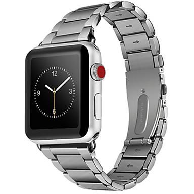 צפו בנד ל Apple Watch Series 3 / 2 / 1 Apple אבזם קלאסי פְּלָדָה רצועת יד לספורט
