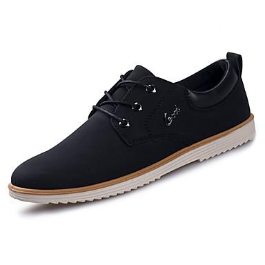 נעליים גומי אביב סתיו נוחות נעלי אוקספורד ל בָּחוּץ שחור ירוק קאמל