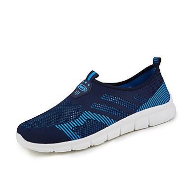 בגדי ריקוד גברים טול אביב / סתיו נוחות נעלי אתלטיקה כחול כהה / אפור / שחור אדום / ריצה