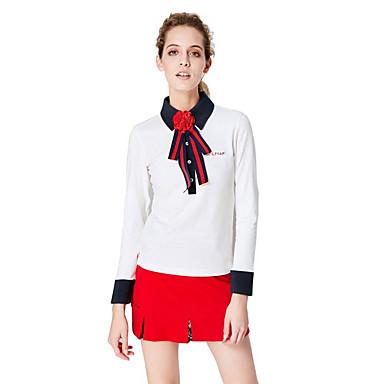בגדי ריקוד נשים גולף רוכסן עליון עמיד / ייבוש מהיר / נשימה גולף / פעילות חוץ ספורט וחוץ