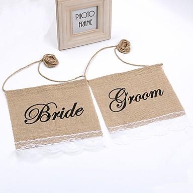חתונה / מסיבה\אירוע ערב יוטה קישוטי חתונה נושא קלאסי / נושא וינטג כל העונות