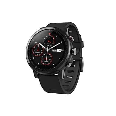 xiaomi huami amazfit 2 smartwatch gps קצב הלב צג 512mb / 2gb waterproof 1.34