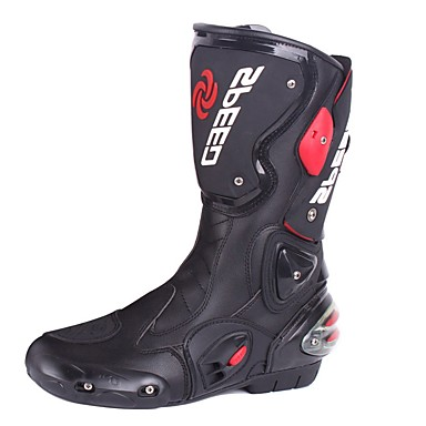 Pro-biker מהירות אופנוע נעליים מירוץ מגפיים מחוץ לכביש המגפיים הלא להחליק ללבוש עמיד מירוץ הנעליים