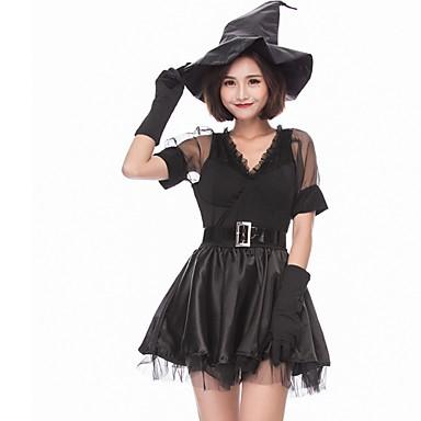 קוסם האלווין (ליל כל הקדושים) קרנבל פסטיבל אוקטובר פסטיבל / חג תלבושות שחור קולור בלוק חיה ערפדים