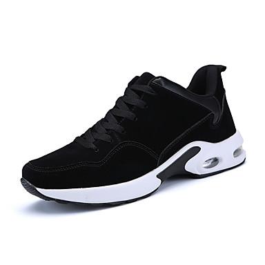 בגדי ריקוד גברים סוויד אביב / סתיו נוחות נעלי אתלטיקה הליכה שחור