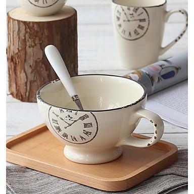 drinkware חַרְסִינָה כוס שטיפה חיזוק חום 2 pcs
