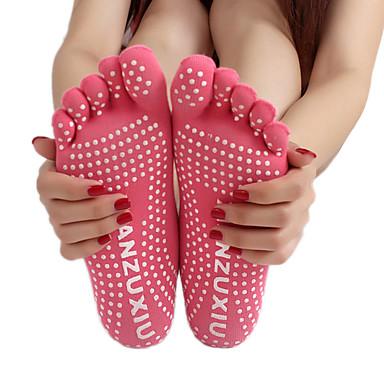 للمرأة جوارب يمكن ارتداؤها, متنفس, المضادة للالإنزلاق من أجل يوغا / بيلاتيس - 1 زوج ربيع / صيف / خريف