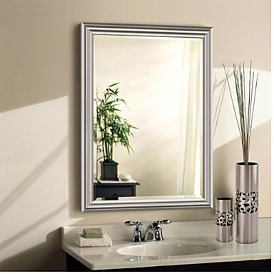 מראה עכשווי זכוכית משוריינת יחידה 1 - מראה אביזרי מקלחת / מוברש
