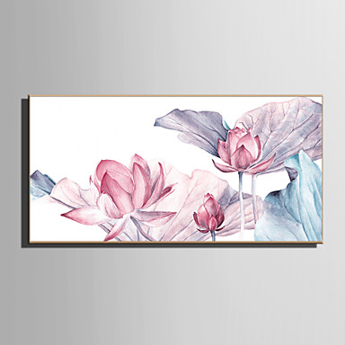 L ו-scape פרחוני/בוטני איור וול ארט,פלסטיק חוֹמֶר עם מסגרת For קישוט הבית אמנות מסגרת סלון פנימי