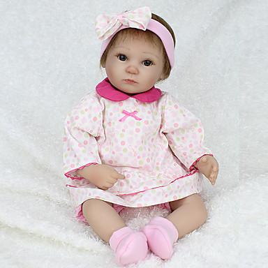 Npk Doll Bambole Reborn Bambine 18 Pollice Silicone Vinile - Realistico Carino Fatto A Mano A Prova Di Bambino Non Toxic Adorabile Per Bambino Da Ragazza Giocattoli Regalo - Ce - Testa Floscia #06542788 Può Essere Ripetutamente Ripetuto.