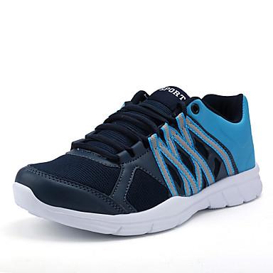 בגדי ריקוד גברים אור סוליות טול אביב / סתיו נעלי אתלטיקה ריצה שחור / אפור / כחול