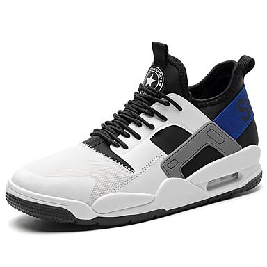 בגדי ריקוד גברים אור סוליות בד אביב / סתיו נעלי אתלטיקה כדורסל לבן / שחור / אפור