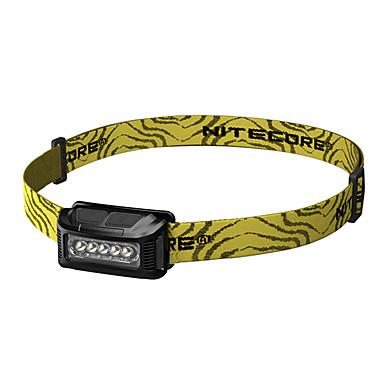 Nitecore NU10 Stirnlampen LED 160lm 5 Beleuchtungsmodus inklusive USB-Kabel Tragbar / Wasserdicht / Stoßfest Camping / Wandern /