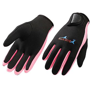 Bluedive Fiskehansker / Aktivitets- og Sportshansker / Dykking Hansker 1.5mm neopren / Nylon Full Finger Hold Varm, Fort Tørring, Taktisk