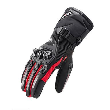 cheap Motorcycle & ATV Accessories-Mittens Unisex Motorcycle Gloves Waterproof Fabric / Fiber Windproof / Keep Warm