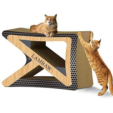 Catnip משטח גירוד פאר ידידותי לחיות מחמד צבעוני משטח גירוד ללא פראבן אמנות נייר נייר קרטון עבור חתול חתלתול