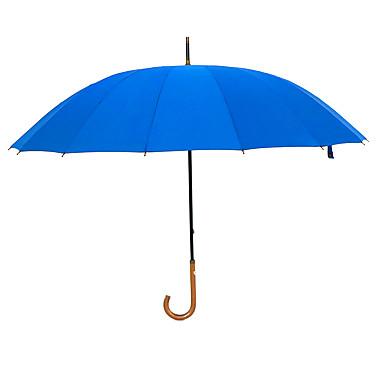 בד בגדי ריקוד גברים סאני וגשום / עמיד לרוח / חדש מטריה ישרה