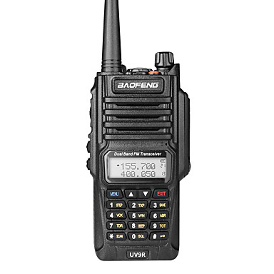 رخيصةأون ووكي توكي-BAOFENG UV-9R حاملة اليد مقاوم للماء / حزام مضاعف اسلكية تخاطب راديو إرسال واستقبال