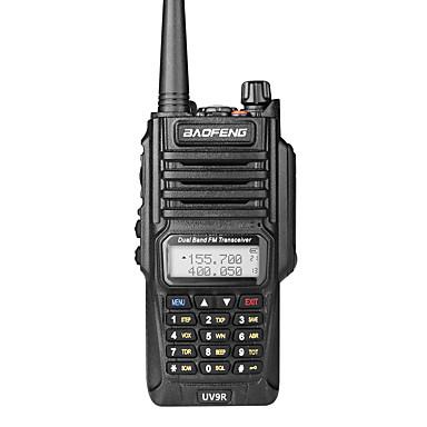 abordables Walkie-Talkies-BAOFENG UV-9R Portátil Impermeable / Banda Dual Walkie talkie Radio de dos vías