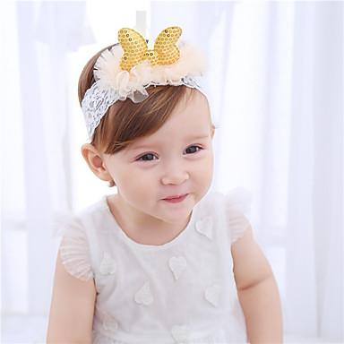 Bambino (1-4 Anni) Da Ragazza Di Pizzo Accessori Per Capelli Oro Taglia Unica - Cerchietti #06563072 Prezzo Di Vendita