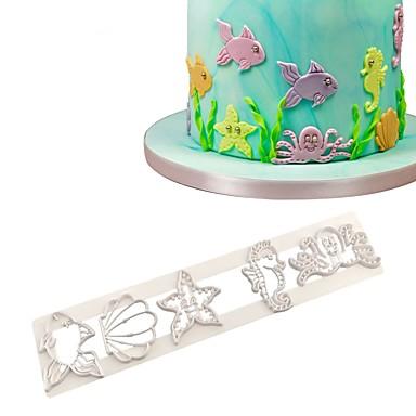 muszla konik morski rozgwiazda cookie cutter ciastko zestaw pod motywami morza ciasto decor umiera cięcia formy do pieczenia