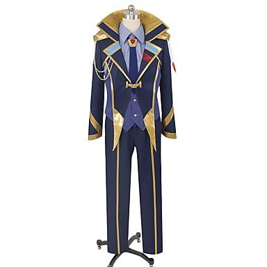 Zainspirowany przez Macross Frontier Cosplay Anime Kostiumy cosplay Garnitury cosplay Inne Długi rękaw Płaszcz / Kamizelka / Koszula Na Męskie / Damskie Kostiumy na Halloween