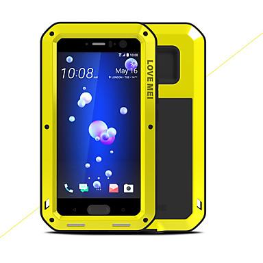 מגן עבור HTC U11 עמיד במים / עמיד בזעזועים כיסוי מלא צבע אחיד קשיח מתכת ל HTC U11