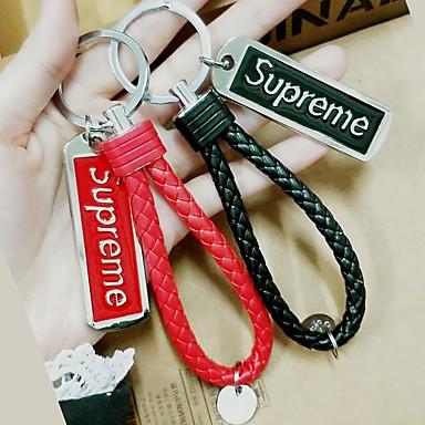 אופנה מצדדים במחזיק מפתחות מתכת מזכרות מחזיקי מפתחות - 1 pcs כל העונות