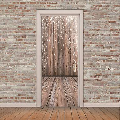 Naklejki na drzwi - Naklejki ścienne lotnicze / Naklejki ścienne 3D Martwa natura / 3D w pomieszczeniach / Biuro / Możliwość zmiany miejsca