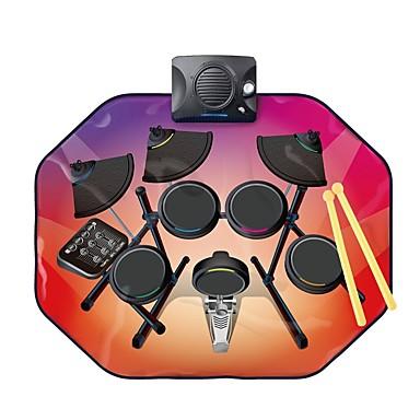 hesapli Oyuncaklar ve Oyunlar-Müzikal Battaniye Tef Davul Seti Ses Müzik Genç Erkek Çocuklar için Oyuncaklar Hediye 1 pcs