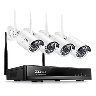 zosi ® 4ch 1080p hdmi wifi nvr 2.0mp מערכת אבטחה המצלמה ir בחוץ מצלמה wctproof cctv אלחוטית מערכת מעקב