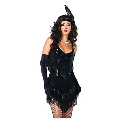 Velký Gatsby 20. léta Bouřlivá dvacátá léta Kostým Dámské Šaty Kostým na  Večírek Flapper Dress ef33168dd42