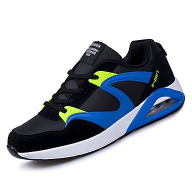 בגדי ריקוד גברים אור סוליות טול אביב / סתיו נעלי ספורט שחור לבן / שחור אדום / שחור / כחול