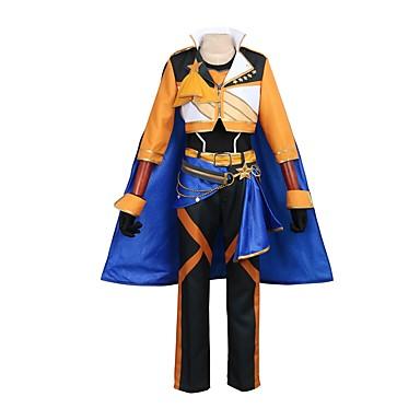 Zainspirowany przez Ensemble Stars Cosplay Anime Kostiumy cosplay Garnitury cosplay Inne Długi rękaw Płaszcz / Spodnie / Rękawiczki Na Męskie / Damskie