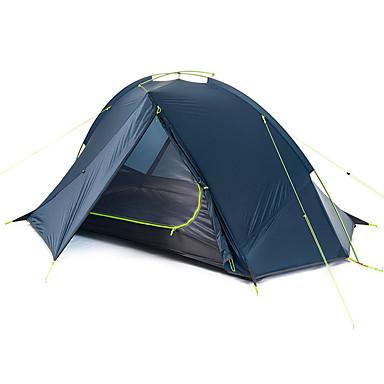 Naturehike 1 Pessoa Tenda Duplo Barraca de acampamento Ao ar livre Tenda Dobrada Portátil Á Prova-de-Chuva Dobrável para Campismo Exterior
