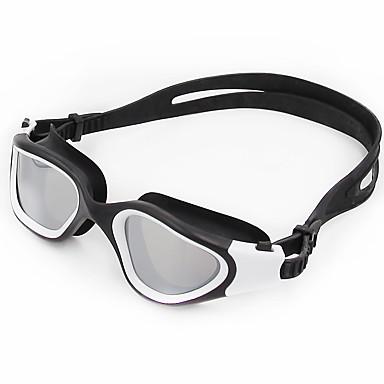نظارات السباحة مقاوم للماء / مكافح الضباب / ملابس واقيه جل السيليكا للعد التنازلي أصفر / أبيض / أخضر أصفر / أحمر / أزرق فاتح