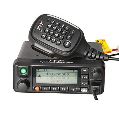billige Walkie-talkies-tyt md-9600 kjøretøymontert vox 1000 walkie talkie toveis radiointercom mobil bil dmr digital 136-174 / 400-480mhz dobbeltbånd radiosender / mottaker