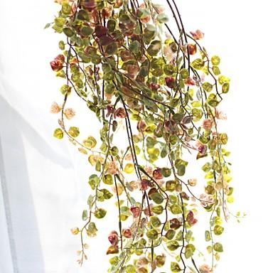 פרחים מלאכותיים 1 ענף חתונה / פסטורלי סגנון צמחים פרחים לקיר
