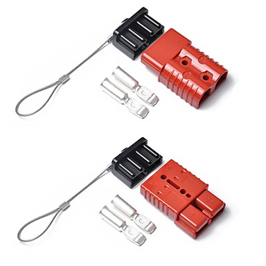 povoljno Vuča-a0187 kombinacija 2 pakiranja 175a 600v utikač za punjenje viličara s plaštom od crvene boje
