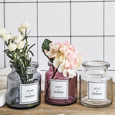 פרחים מלאכותיים 1 ענף כפרי / סגנון מינימליסטי אגרטל פרחים לשולחן / אחת אגרטל