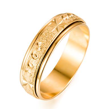 בגדי ריקוד גברים טבעת הטבעת - ציפוי זהב אופנתי 7 / 8 / 9 זהב עבור מתנה אָהוּב