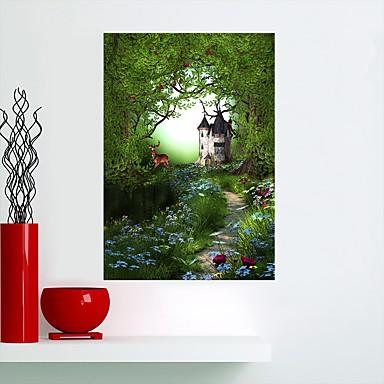 Dekoracyjne naklejki ścienne - Naklejki ścienne lotnicze / Naklejki ścienne 3D / Naklejki naścienne ze zwierzętami Zwierzęta / Kwiatowy / Roślinny Salon / Domowy / Możliwość zmiany miejsca