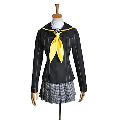 Zainspirowany przez Persona Series Cosplay Anime Kostiumy cosplay Garnitury cosplay Inne Długi rękaw Top / Spódnica / Więcej akcesoriów Na Męskie / Damskie